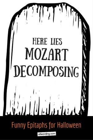 50 Tombstone Sayings For Your Halloween Yard Haunt