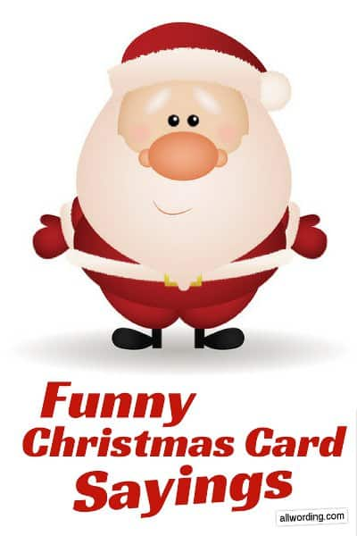 25 Funny Things To Write In A Christmas Card Allwording Com