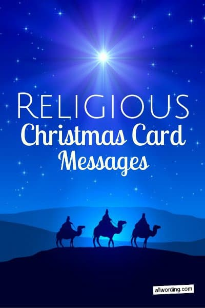 25 religious christmas card messages allwording m4hsunfo