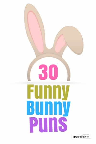 30 Funny Bunny Puns For Easter Allwording Com