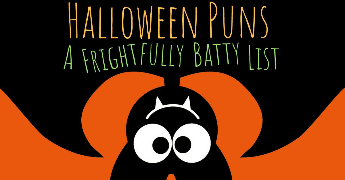 A Frightfully Batty List of Halloween Puns » AllWording.com