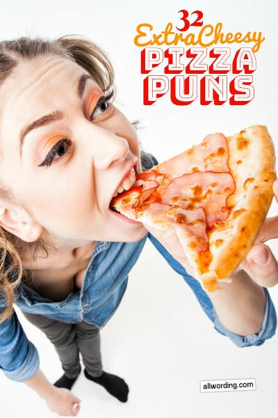 A cheesy list of funny pizza puns