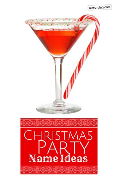 A big list of Christmas party name ideas