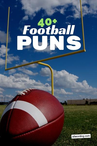 A big list of football puns for social media captions, parties, jokes, etc.