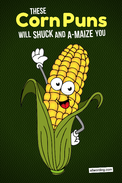 A bushel of corny corn puns