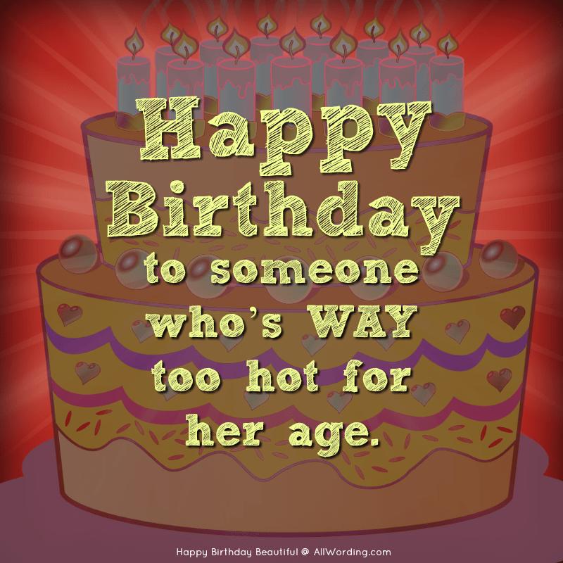 Happy birthday sexy wishes