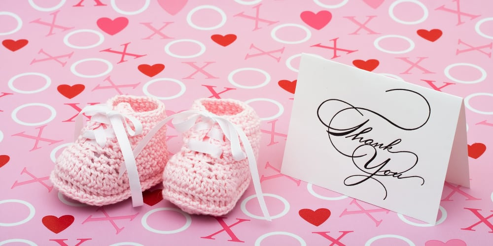 Baby Shower Thank You Wording Tips Ideas And Examples