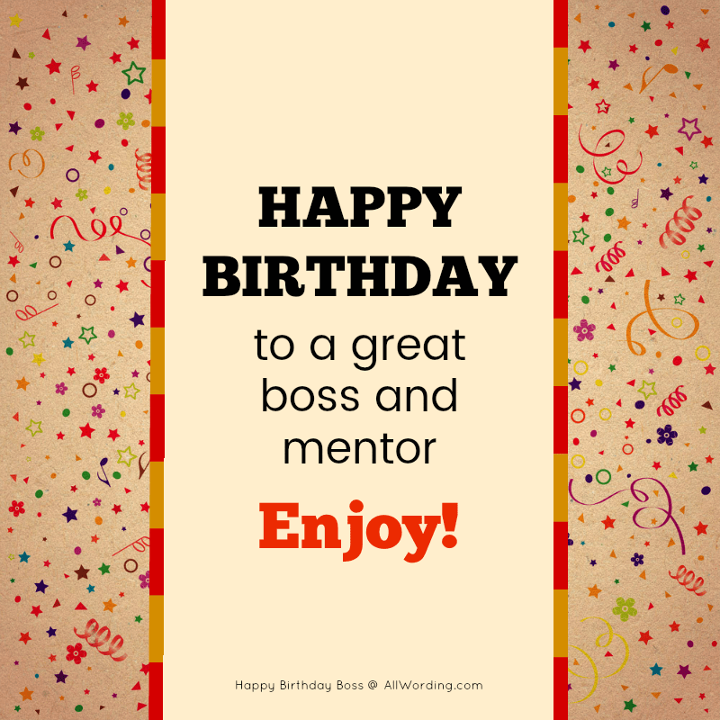 30 Promotion Worthy Birthday Wishes For Your Boss Allwording Com