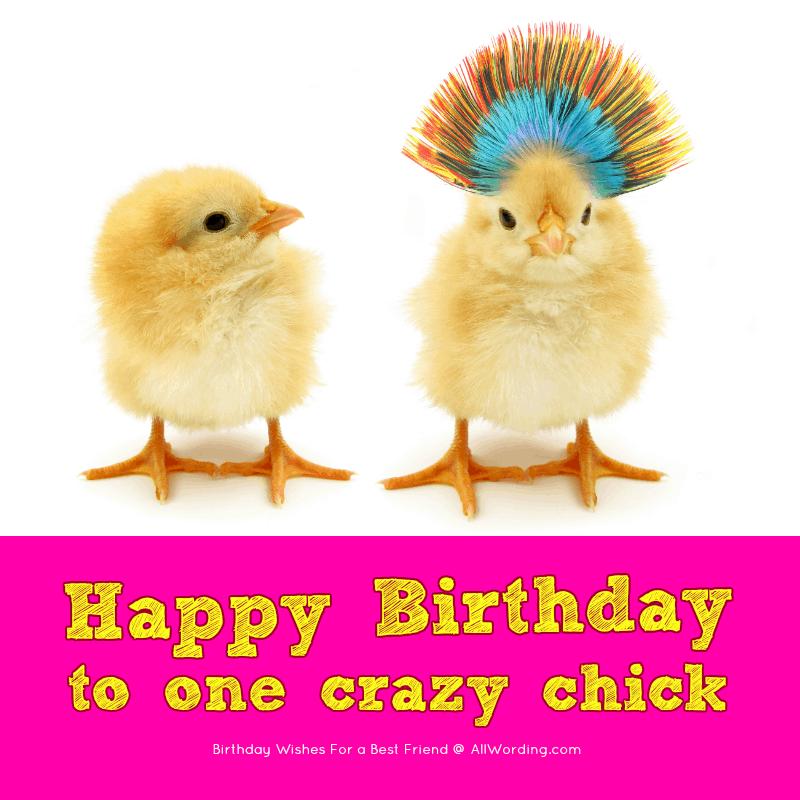 Happy Birthday to one crazy chick!