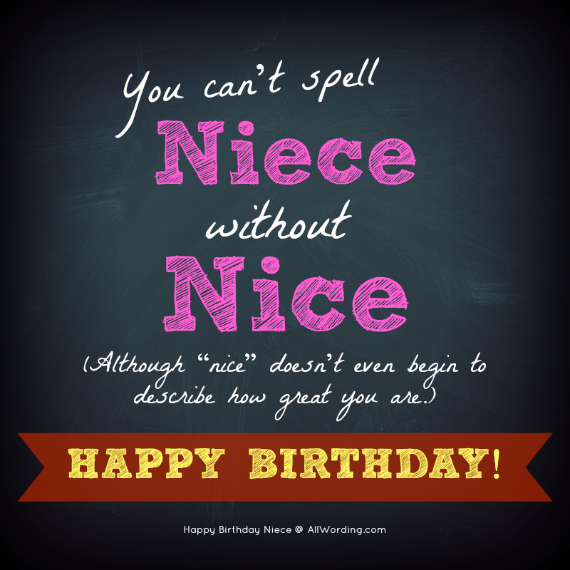 20 Birthday Wishes For A Special Niece Allwording Com