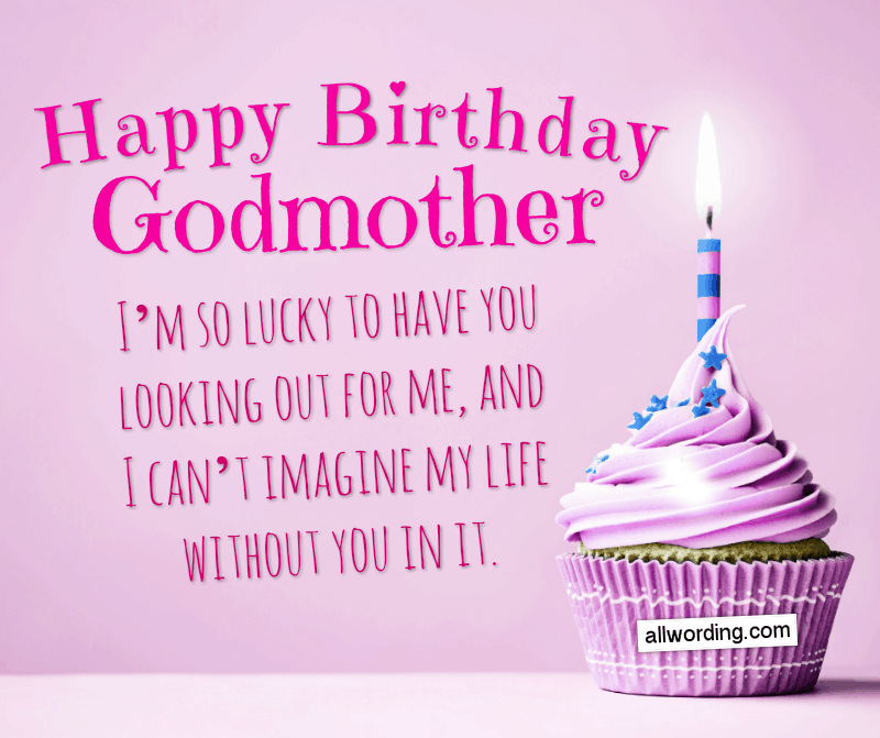 Happy Birthday, Godmother! I'm so lucky to have you looking out for me, and I can't imagine my life without you in it.