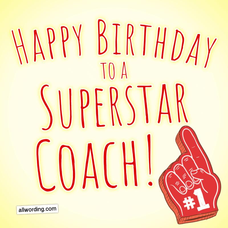 Happy Birthday to a superstar coach!